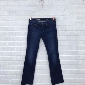 AG Size 26 The Olivia Skinny Boot Cut Jeans Dark
